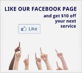 Offer for $10 off next service if you like the Shaw's Appliance Repair Facebook page